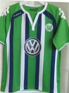 VFL Wolfsburg 2016 maillot exterieur 15-16