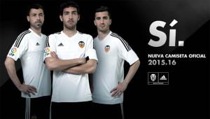 Valence 2016 maillot domicile Valencia 15-16
