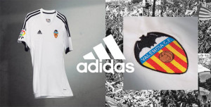 Valence 2016 maillot foot domicile Valencia 15-16 officiel