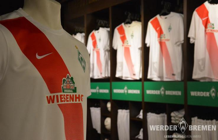 Werder Breme 2016 nouveaux maillots football 15-16