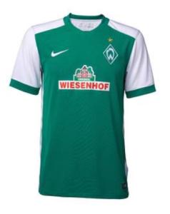 Werder Breme 2016 maillot domicile 2015 2016