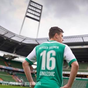 Werder Breme 2016 maillot domicile dos officiel
