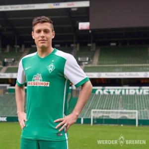 Werder Breme 2016 maillot domicile officiel