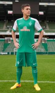 Werder Breme 2016 maillot domicile tenue short chaussettes