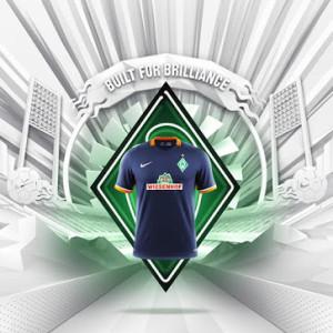 Werder Breme 2016 maillot exterieur 15-16