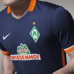 Werder Breme 2016 maillot exterieur 15-16 Nike