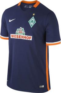 Werder Breme 2016 maillot exterieur foot 15-16
