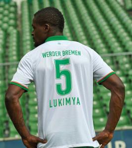 Werder Breme 2016 troisieme maillot third dos flocage