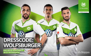 Wolfbourg 2016 maillot domicile 2015 2016 officiel