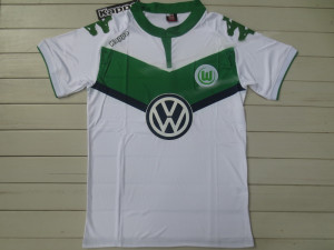 Wolfbourg 2016 maillot domicile 2015 2016