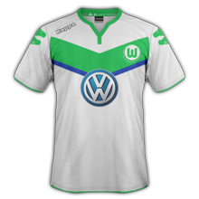 Wolfsbourg 2016 maillot football domicile 15-16