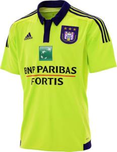 Maillot exterieur RSC Anderlecht 2016 exterieur 2015 2016