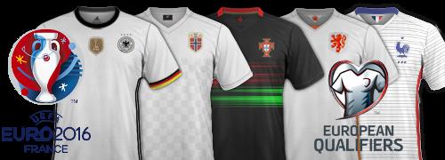 maillots Euro 2016