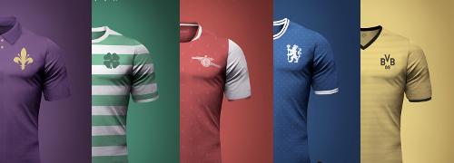 maillots de foot vintage