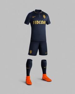 AS Monaco 2015 2016 maillot exterieur short chaussettes