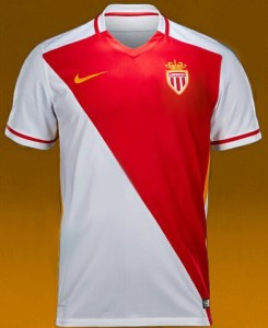 AS Monaco 2016 maillot domicile 2015 2016 foot