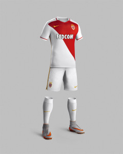 AS Monaco 2015 tenue domicile foot