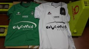 maillots foot ASSE 2015 2016 Saint-Etienne