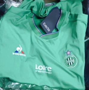 ASSE 2016 maillot domicile Saint-Etienne 15-16