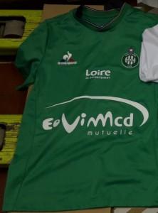 ASSE 2016 maillot foot domicile Saint-Etienne 2015-2016