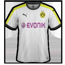 Borussia Dortmund 2016 troisieme maillot third 15-16