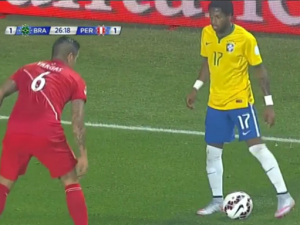Bresil 2015 maillot domicile Copa America 2015