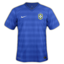 Bresil 2015 maillot exterieur foot Copa America 2015