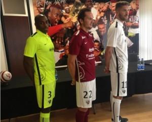 FC Metz 2016 maillots de football 2015-2016