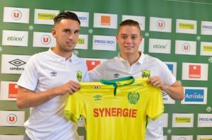 FC Nantes 2016 maillot domicile 15-16