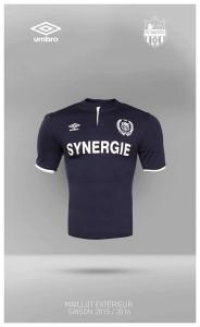FC Nantes 2016 maillot exterieur 2015 2016