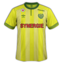 FC Nantes 2016 maillot football domicile 15-16