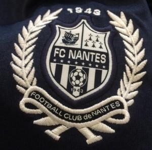 FC Nantes logo maillot exterieur 2015 2016