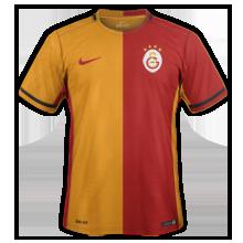 Galatasaray 2016 maillot domicile 15-16
