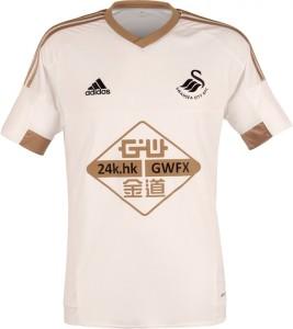 maillot domicile Swansea