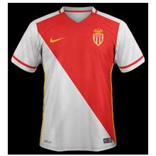 Monaco 2016 maillot domicile 15-16