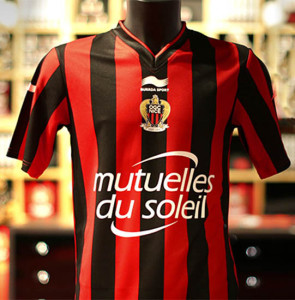 OGC Nice 2016 maillot domicile foot 2015 2016