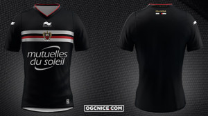 OGC Nice  2016 maillot third officiel