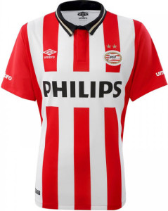 PSV Eindhoven 2016 maillot domicile 2015-2016