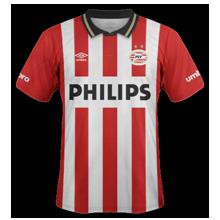 SKEL HORROR SHOW 6 ETOILES SUR LE MAILLOT PSV-Eindhoven-2016-maillot-domicile-2015-2016