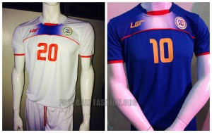 Philippines 2016 les maillots de football 2015-2016