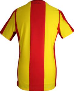 RC Lens 2016 dos du maillot domicile