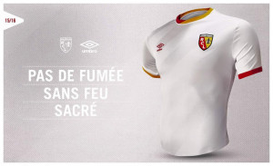 RC Lens 2016 maillot third 2015 2016