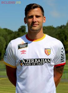 RC Lens 2016 troisieme maillot third 2015 2016