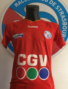 RC Strasbourg 2016 maillot third 15-16