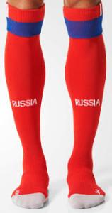 Russie Euro 2016 chaussettes de foot exterieures