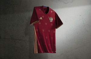 Russie Euro 2016 maillot domicile Adidas