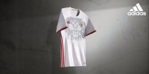 Russie Euro 2016 maillot exterieur officiel Adidas