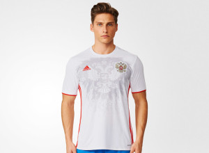 Russie Euro 2016 maillot exterieur photo