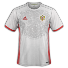 Russie Euro 2016 maillot foot exterieur