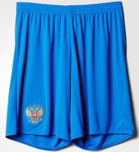 Russie Euro 2016 short de foot exterieur